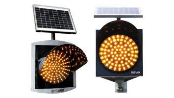 12-Inch (300 mm) Solar LED Flasher