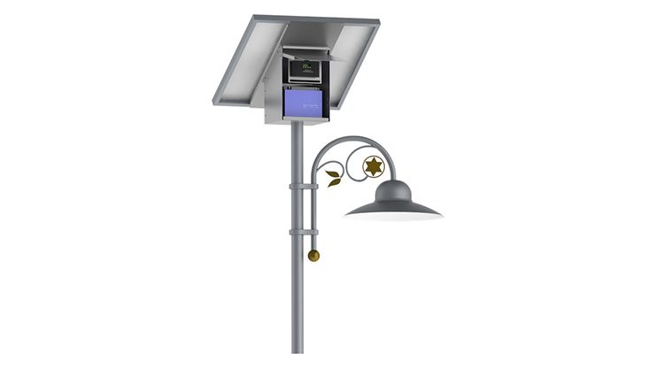 15W LED Solar Park & Pathway Lighting