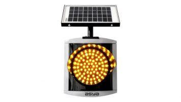 8-Inch (200 mm) Solar LED Flasher
