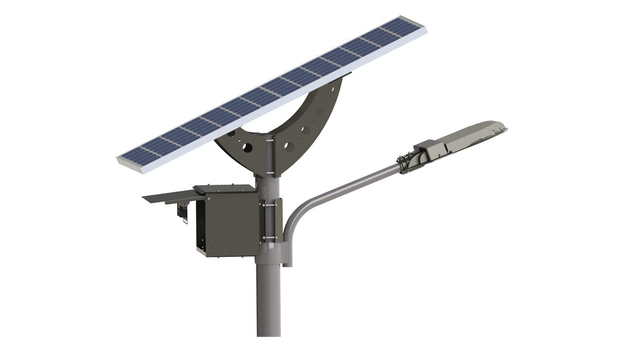50w Solar Led Street Light Lighting Equipment Sales