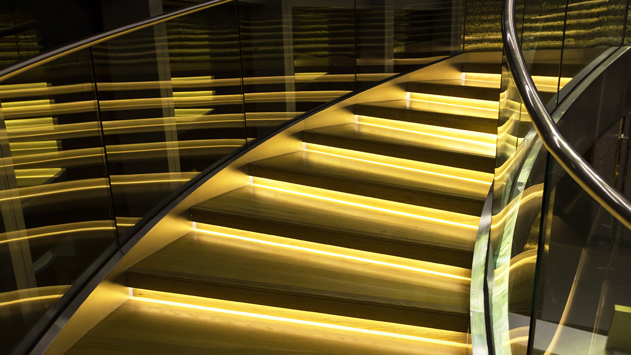 lighting stairs. The Importance Of Stair And Stairwell Lighting - Equipment Sales Stairs