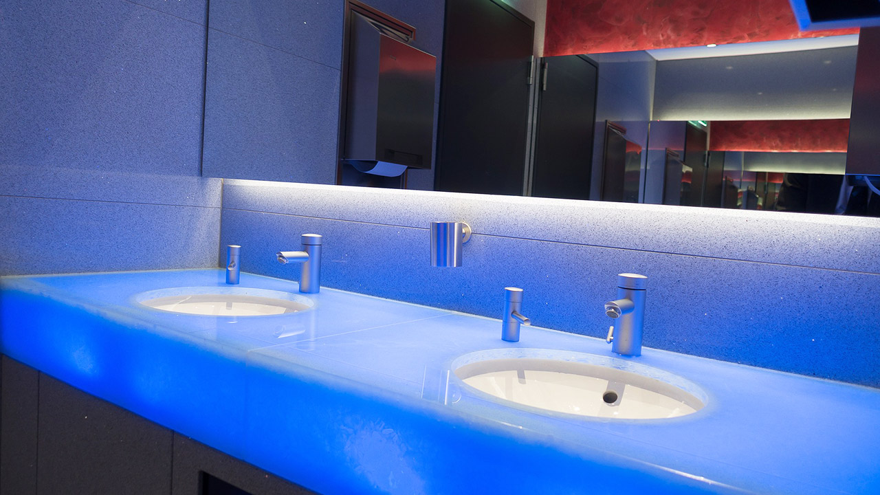 Bathroom and Toilet Lighting - Lighting Equipment Sales