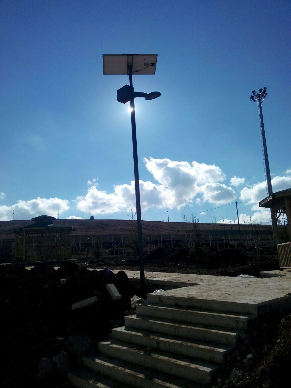 30w Solar Led Area Light Lighting Equipment Sales