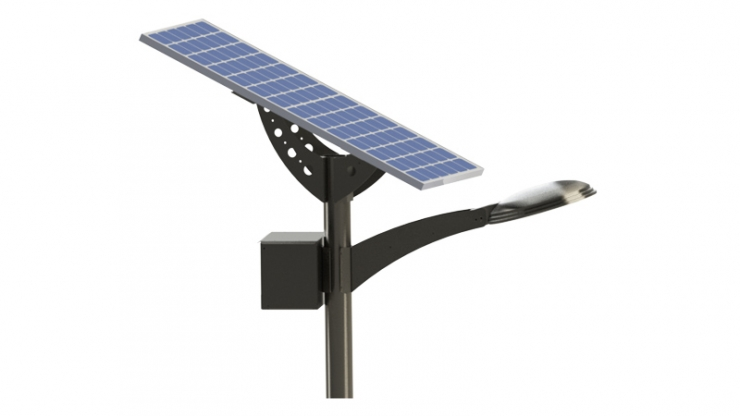 40W Solar LED Area Light