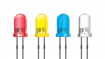 When was the LED Invented?