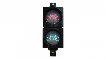 4-Inch (100 mm) LED Bicycle Traffic Signal Module