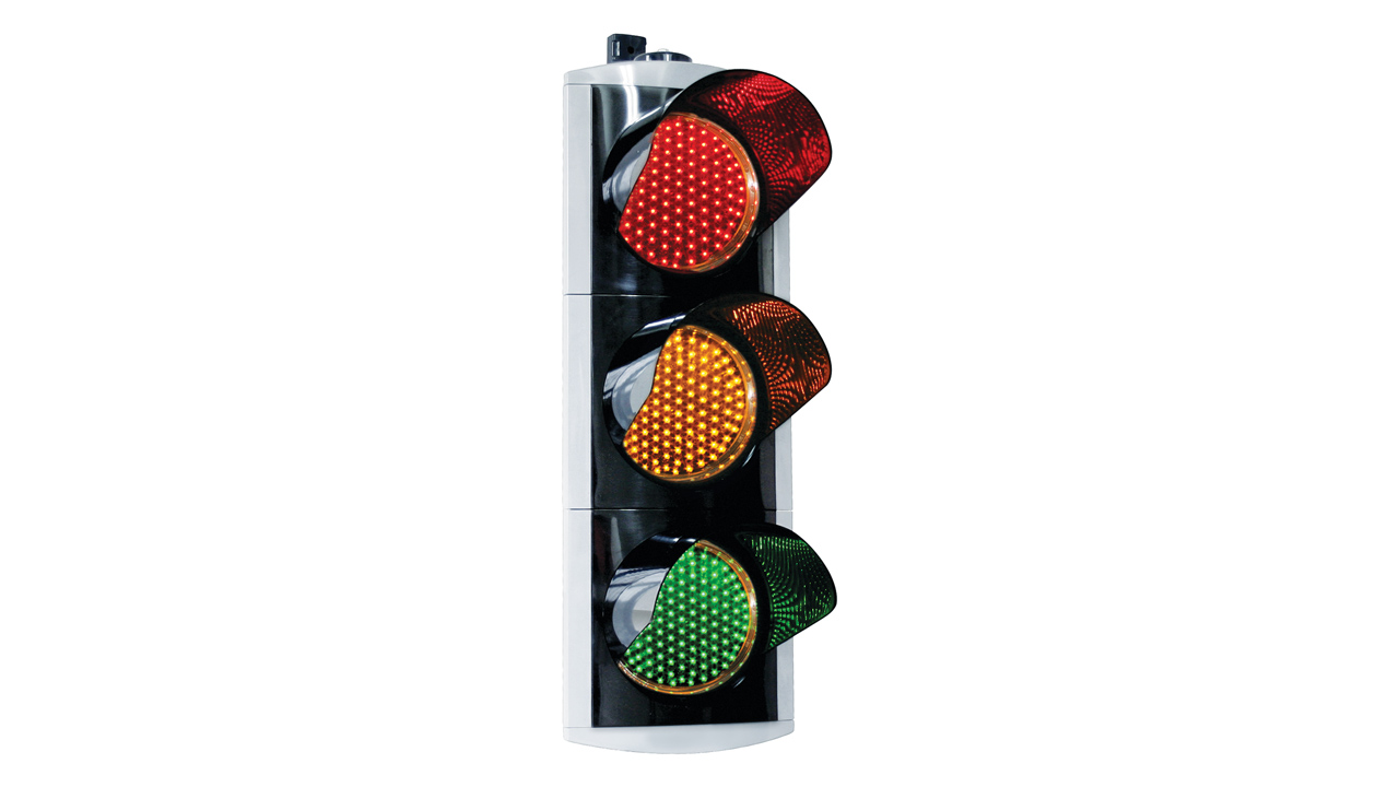 8 Inch 200 Mm Th Led Traffic Signal Head Lighting