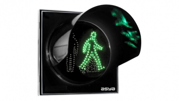 8-Inch (200 mm) LED Dynamic Pedestrian Traffic Light