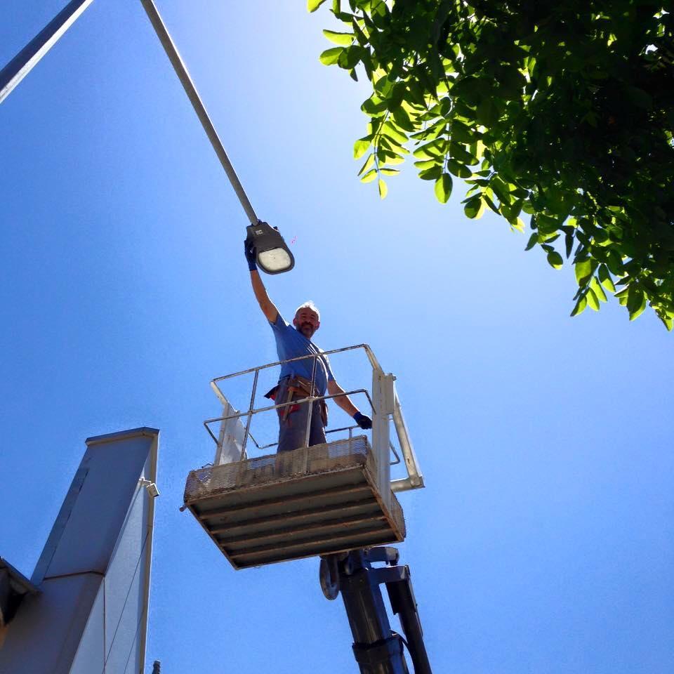 5m Street Light Pole Lighting Equipment Sales