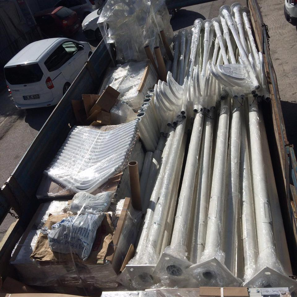 6m Street Light Pole Lighting Equipment Sales