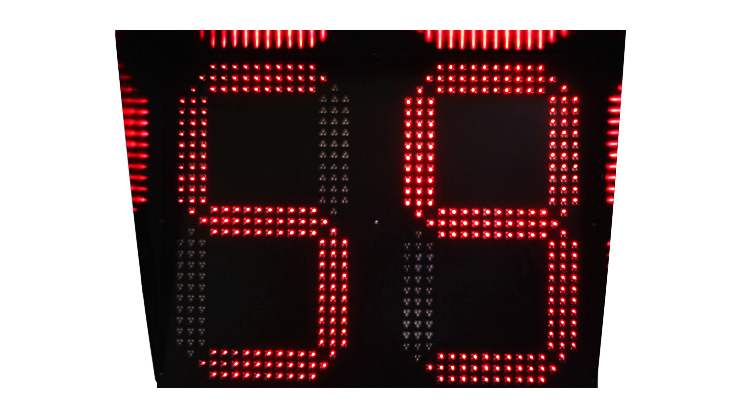 800*600 mm LED Traffic Countdown Timer