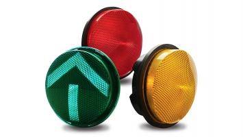 GE GTx 8-Inch (200 mm) LED Traffic Signal Module