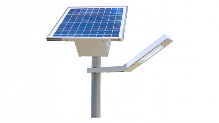 10W LED Solar Park & Pathway Lighting