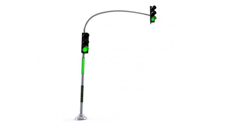 LED Signalling Pole