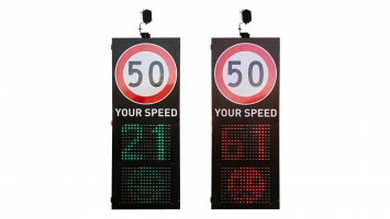 Your Speed Radar with Face Emoji