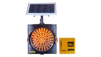 12-Inch (300 mm) GPS Synchronized Solar LED Flasher